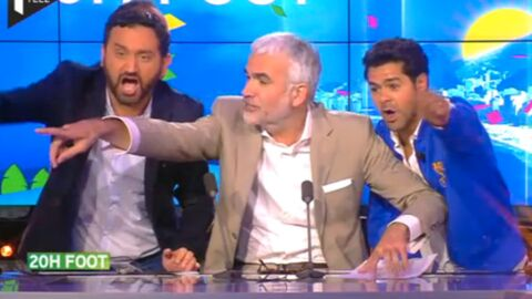 VIDEO Pascal Praud énervé par la visite surprise de Cyril Hanouna, Jamel et Michaël Youn