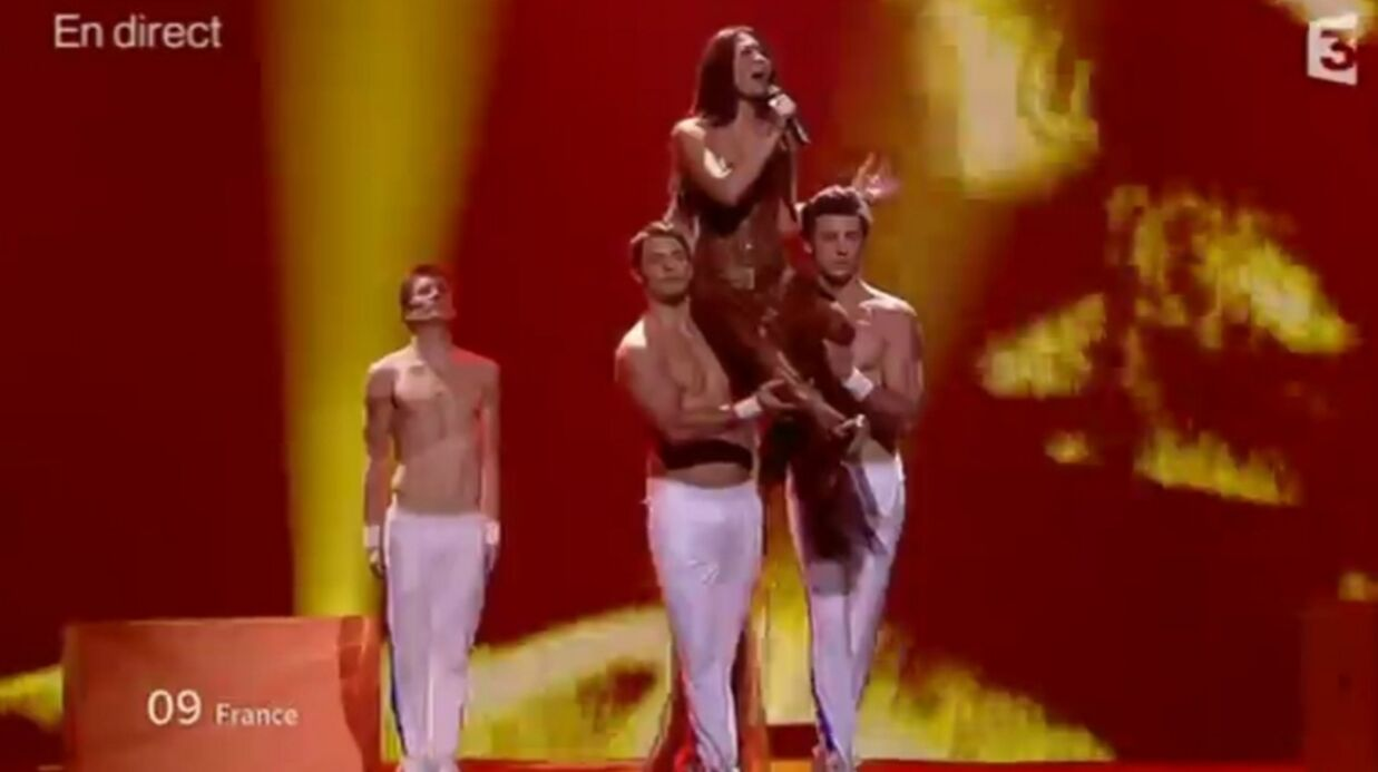 VIDEO Anggun «déçue par les résultats» de l'Eurovision