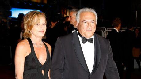 DSK officialise avec sa compagne sur le tapis rouge de Cannes