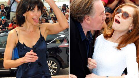 DIAPO Rires, instants sexy, grimaces: le bêtisier du Festival de Cannes 2015