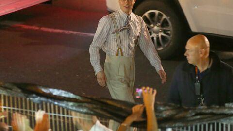 VIDEO Brad Pitt sauve une jeune fan sur le tournage de son film