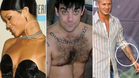 DIAPO Ces célébrités dont les tatouages ont des erreurs d'orthographe