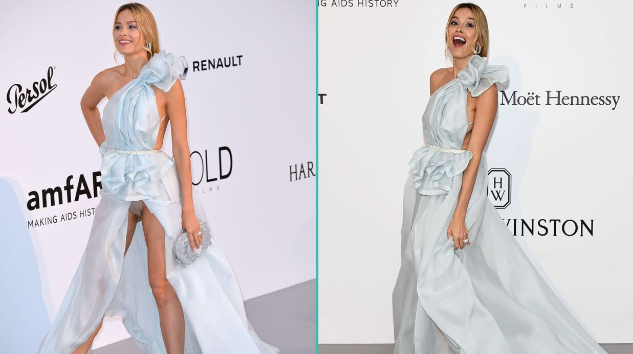 PHOTOS Cannes 2017: Petra Nemcova montre (encore) sa culotte