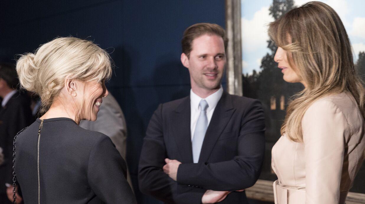 PHOTOS Brigitte Macron rencontre Melania Trump pour son premier déplacement officiel