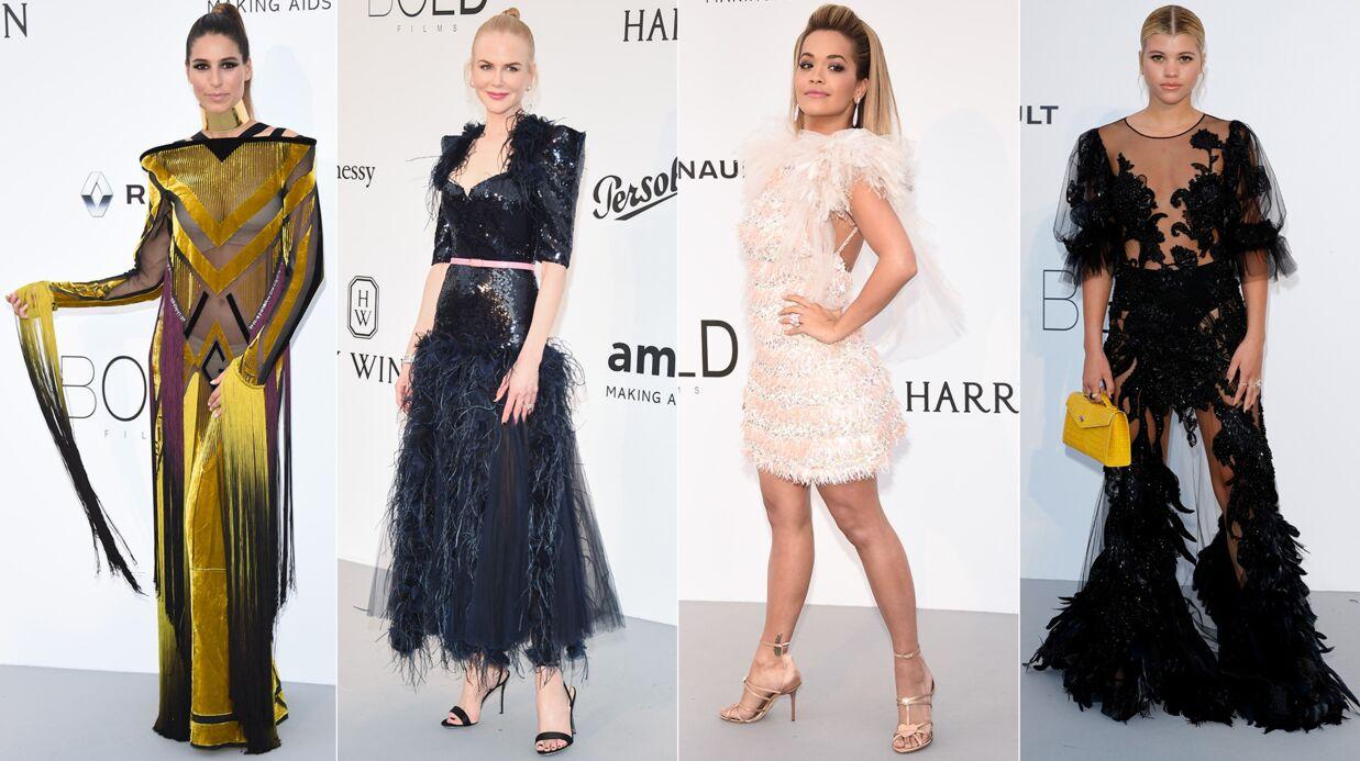 PHOTOS Cannes 2017: Laury Thilleman, Nicole Kidman, Rita Ora… les looks ratés du gala de l'amfAR