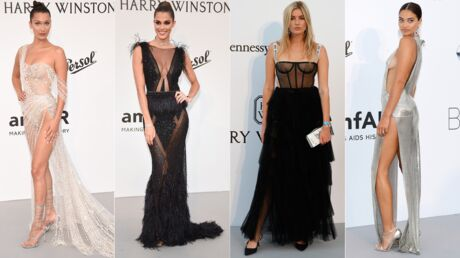 PHOTOS Bella Hadid à moitié nue, Iris Mittenaere tout en transparence… les tenues les plus sexy du gala de l'amfAR