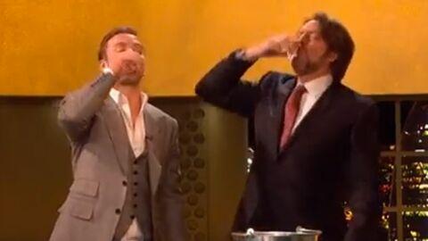 VIDEO Justin Timberlake prend une cuite en direct à la télévision