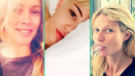 DIAPO Les stars succombent à la folie des selfies sans maquillage