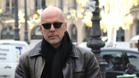 PHOTOS Bruce Willis à Paris avec ses filles