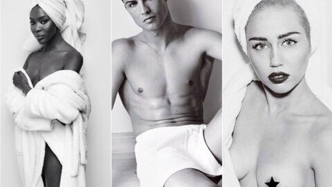 Miley Cyrus, Miranda Kerr, Cristiano Ronaldo se dénudent pour Mario Testino