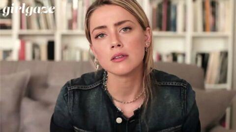 VIDEO Amber Heard délivre un message très touchant à l'attention des femmes victimes de violences