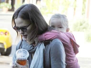 Jennifer Garner se promène avec Seraphina