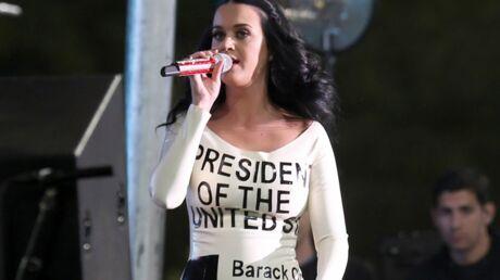 PHOTOS La robe pro Obama de Katy Perry