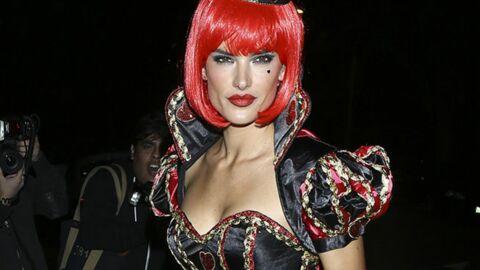 DIAPO Alessandra Ambrosio en mode super sexy pour Halloween