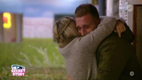 Secret Story 10: Julien en larmes en apprenant qu'il est nominé