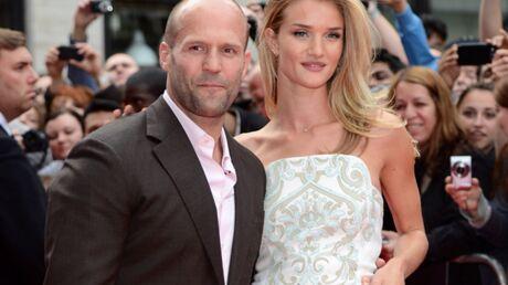 Rosie Huntington-Whiteley et Jason Statham amoureux à Paris