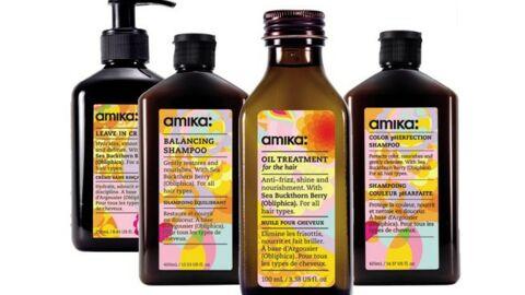 Amika, la marque new-yorkaise des coiffeurs studio…