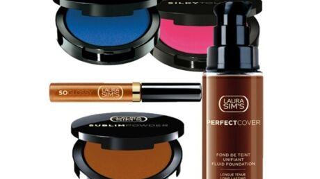Laura Sim's lance son make-up pour peaux noires et…