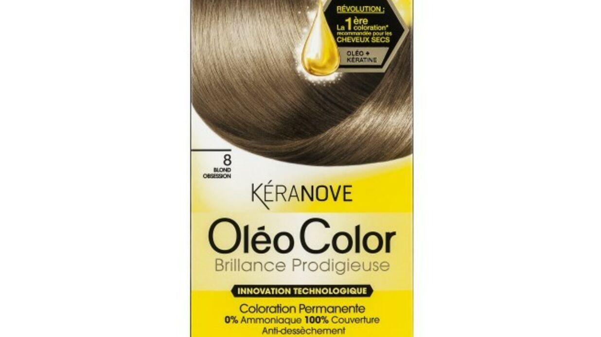 Oléo Color de Kéranove, les cheveux secs ont leur …