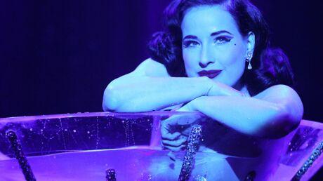 PHOTOS Le show ultra sexy de Dita Von Teese à New York