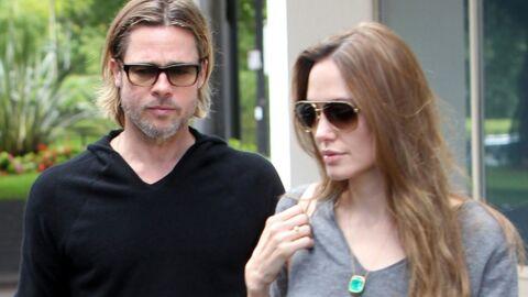 Brad Pitt et Angelina Jolie au Touquet samedi