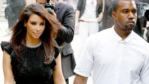 Kanye West jette les vêtements de Kim Kardashian