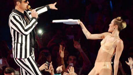 Robin Thicke en veut à Miley Cyrus après leur duo aux MTV VMA