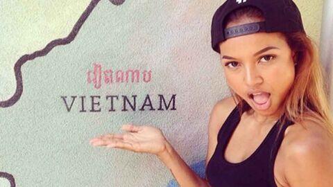 Karrueche Tran: la copine de Chris Brown menacée de mort après une blague sur Blue Ivy