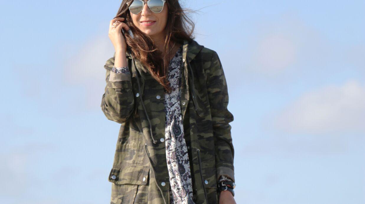 L'imprimé camouflage: les conseils de Marieluvpink pour le porter
