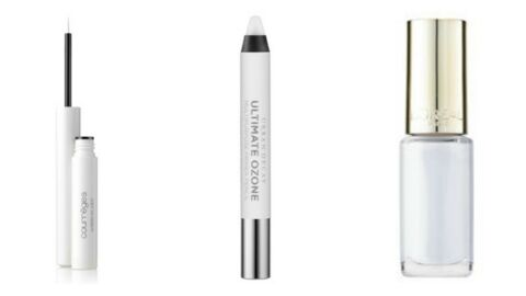 Tendance make-up : une touche de blanc !
