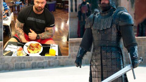 La Montagne de Game of Thrones révèle l'impressionnante quantité de nourriture qu'il mange par jour