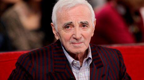 Charles Aznavour remercie chaleureusement Nicolas Sarkozy