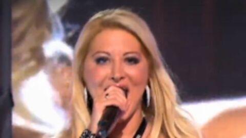 VIDEO Loana fait son grand retour de chanteuse à la télé