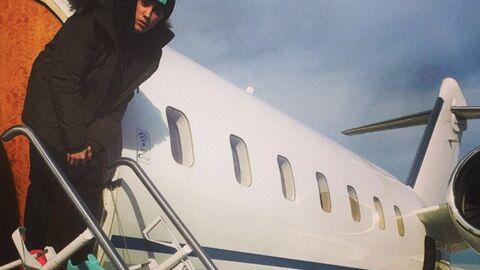 PHOTOS Justin Bieber s'offre un jet privé pour Noël