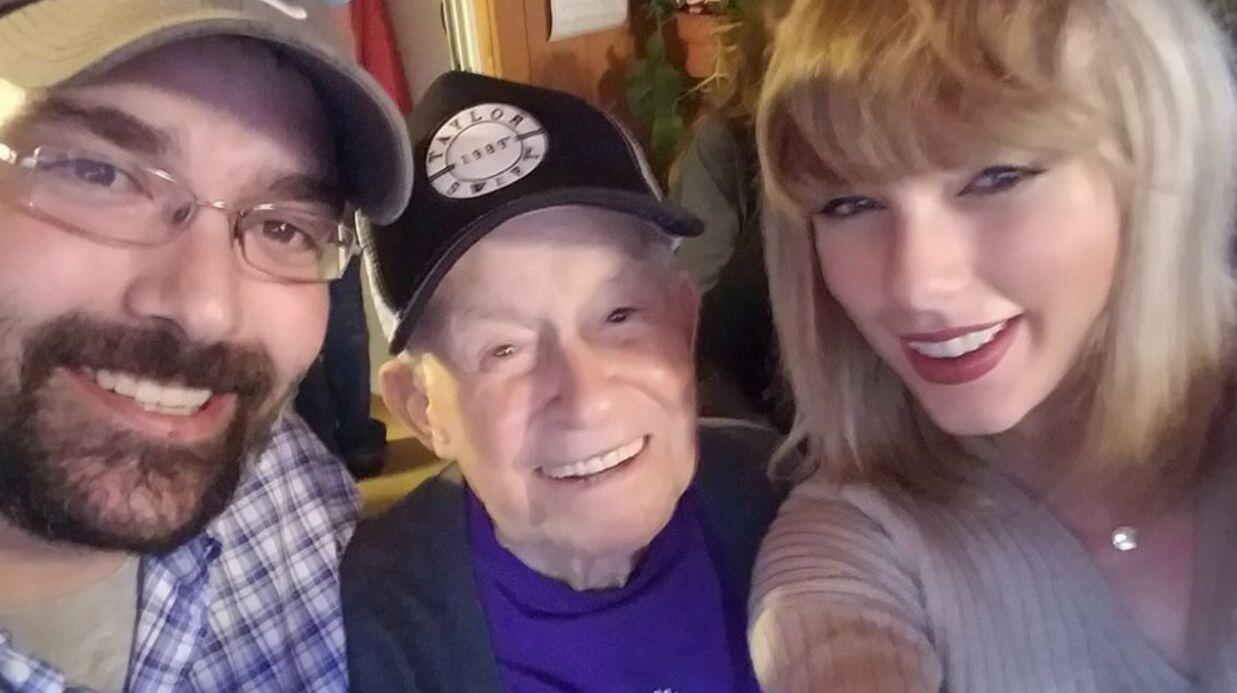 VIDEO Taylor Swift donne un concert surprise à un vétéran âgé de 96 ans