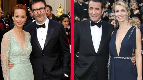 LOOK Le match des couples Dujardin-Lamy/Hazanavicius-Bejo