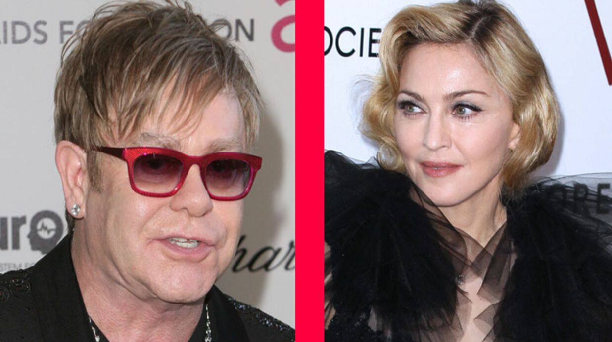 Madonna – Elton John: leur guerre des soirées post Oscars