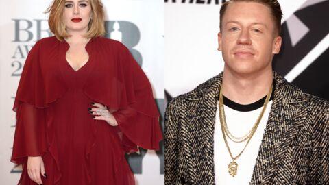 Adele a mis un gros vent au rappeur Macklemore