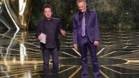 PHOTO César 2016: Christophe Lambert et sa bosse à l'entrejambe amusent Twitter