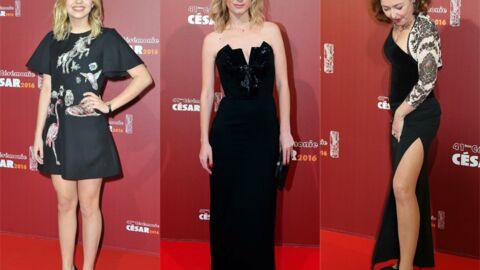 DIAPO César 2016: Décolleté sexy pour Mélanie Laurent, Catherine Frot hyper fière en robe fendue