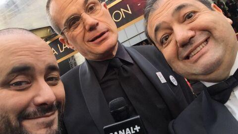 VIDEO Explosé de fatigue par le jetlag, Jérôme Commandeur pète un câble sur le tapis rouge des Oscars