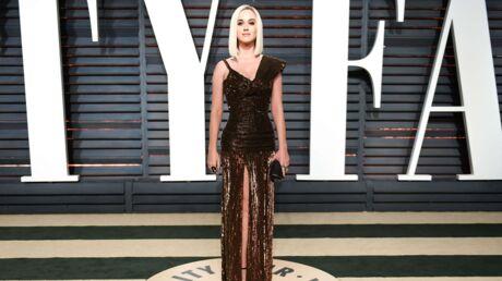 PHOTO Oscars 2017: de dos, la robe de Katy Perry n'était pas aussi classe