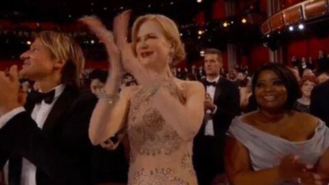 Oscars 2017: Nicole Kidman moquée pour son étrange façon d'applaudir