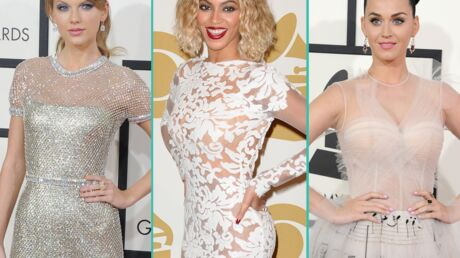 PHOTOS Taylor Swift, Beyoncé, Katy Perry: défilé glamour aux 56e Grammy Awards