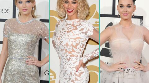 PHOTOS Taylor Swift, Beyoncé, Katy Perry : défilé glamour aux 56e Grammy Awards