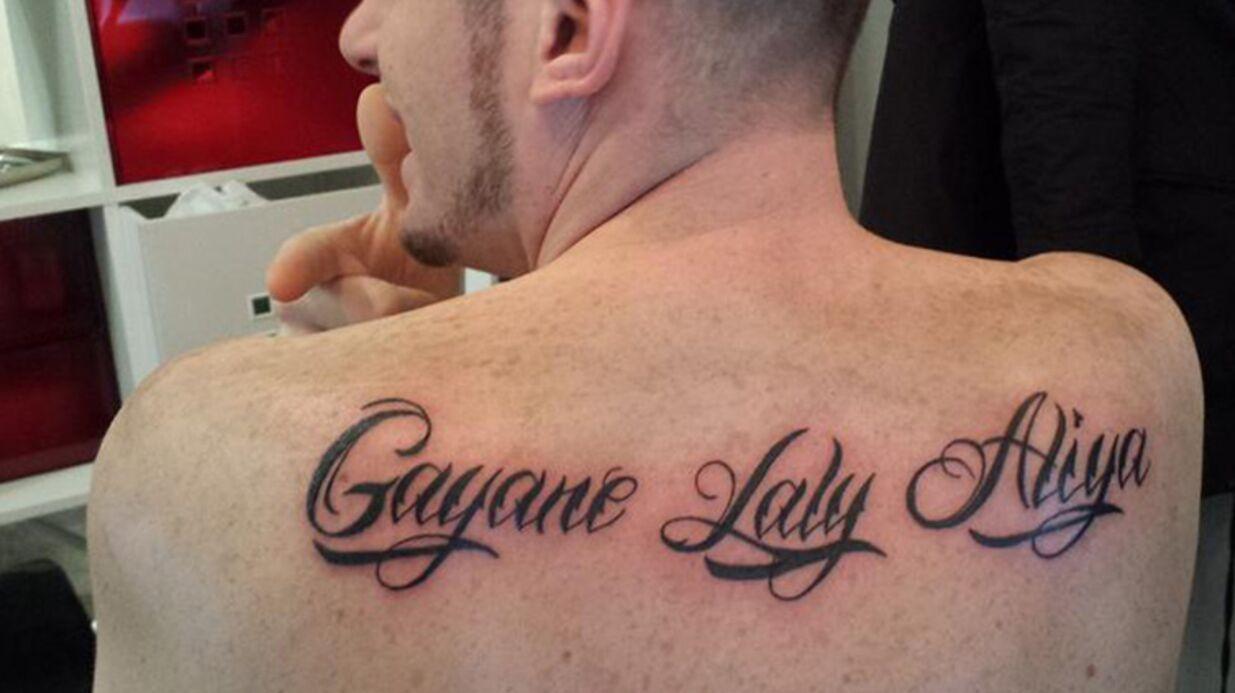 PHOTOS Norbert Tarayre et sa femme se font tatouer le prénom de leurs filles