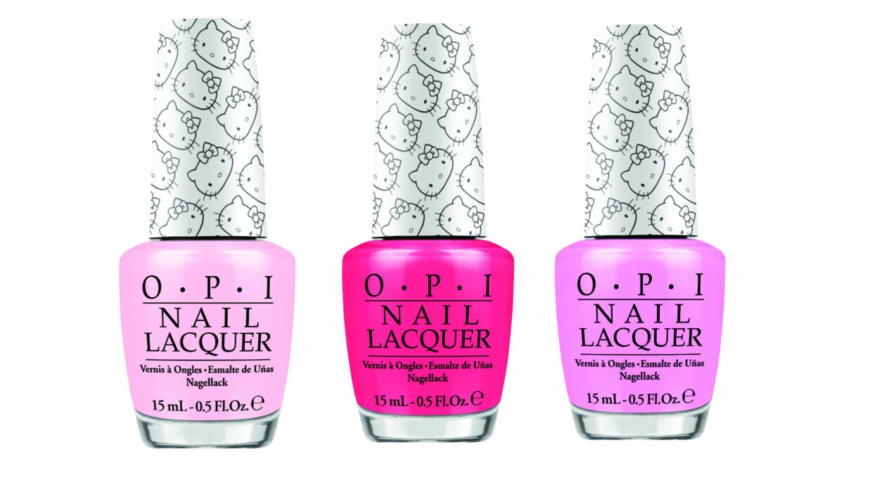 Hello Kitty by OPI: une collection de vernis à ongles Kawaii