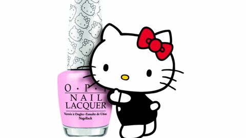 Hello Kitty by OPI : une collection de vernis à ongles Kawaii
