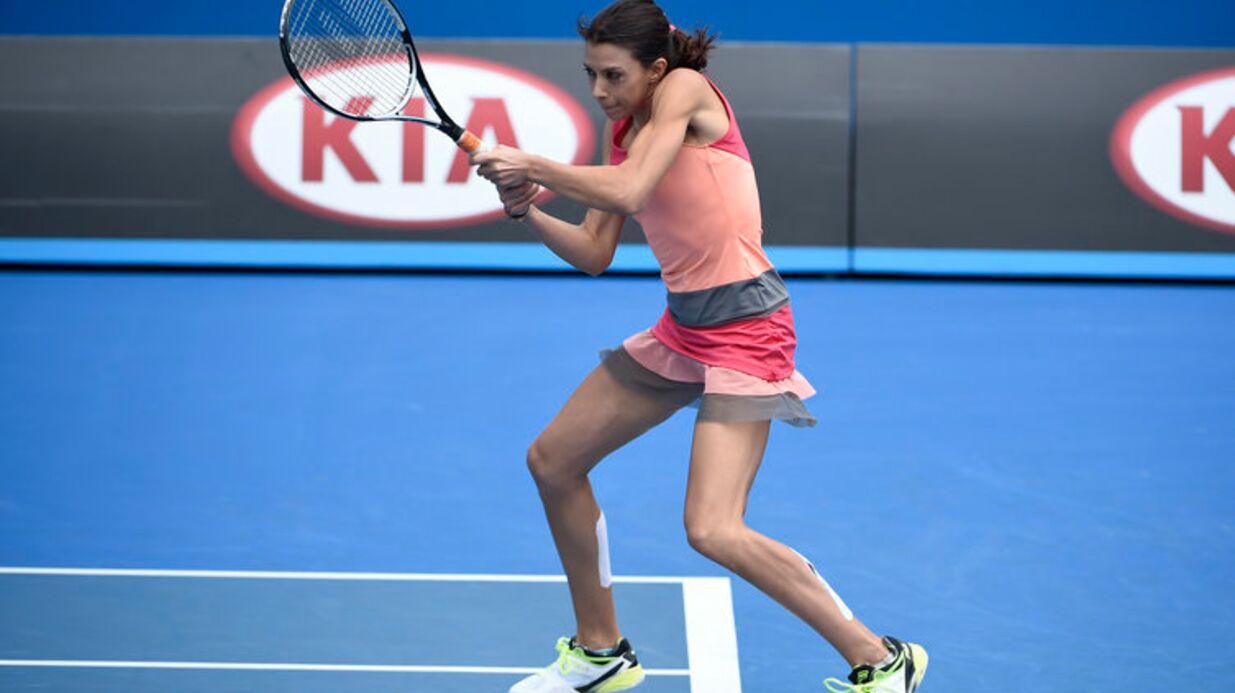 PHOTOS Marion Bartoli ultra musclée pour jouer en double à l'Open D'Australie