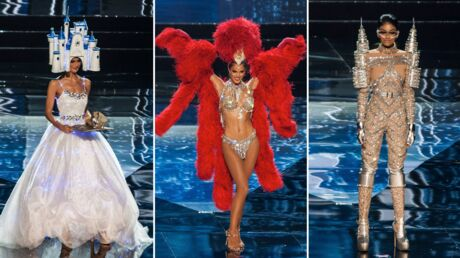 PHOTOS Miss Univers: marionnette humaine, cheval en carton… les miss défilent et c'est n'importe quoi